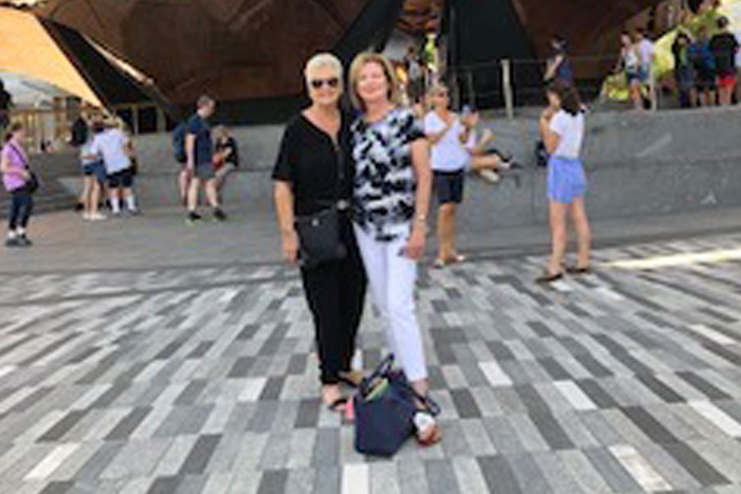 Hudson Yards Rocky Klugman And Patrice Held