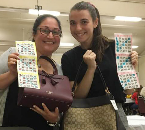 Bag Bingo winners