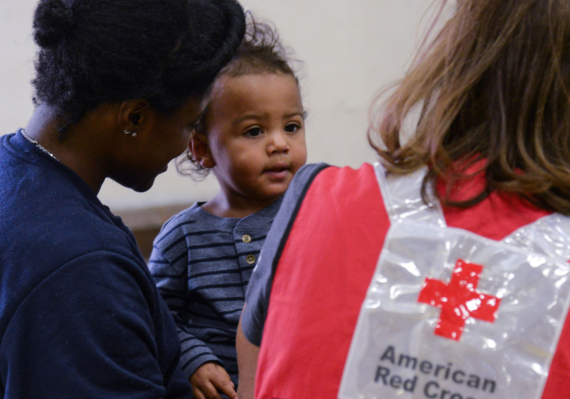 American Red Cross in action