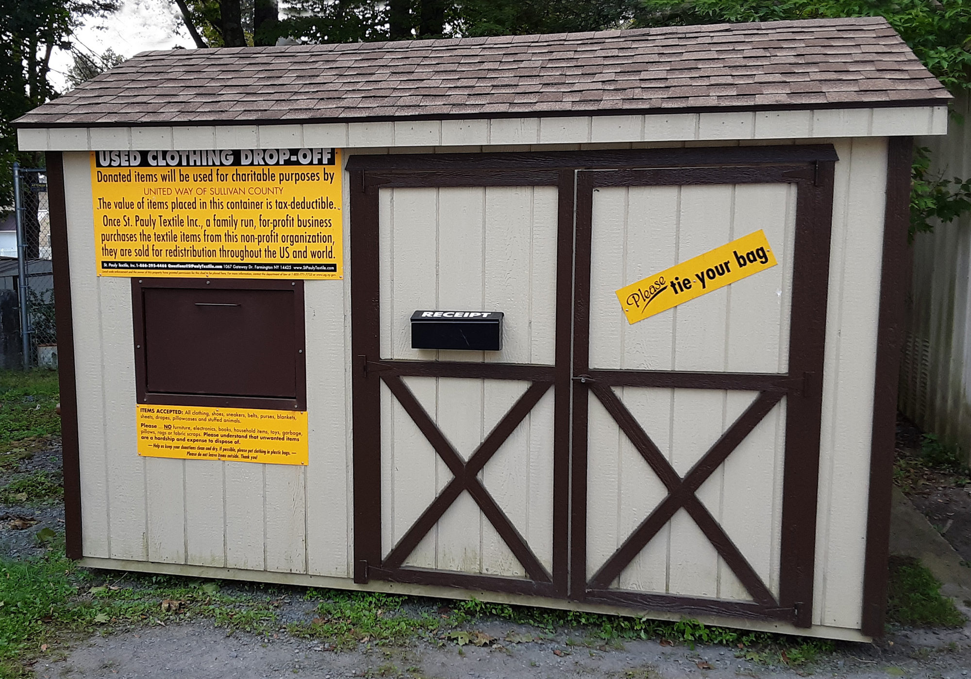 St. Pauly Clothing Shed